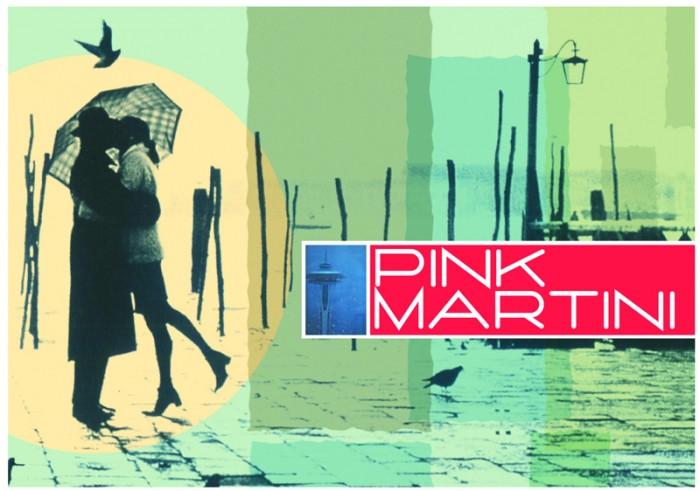 Pink Martini Postcard 1