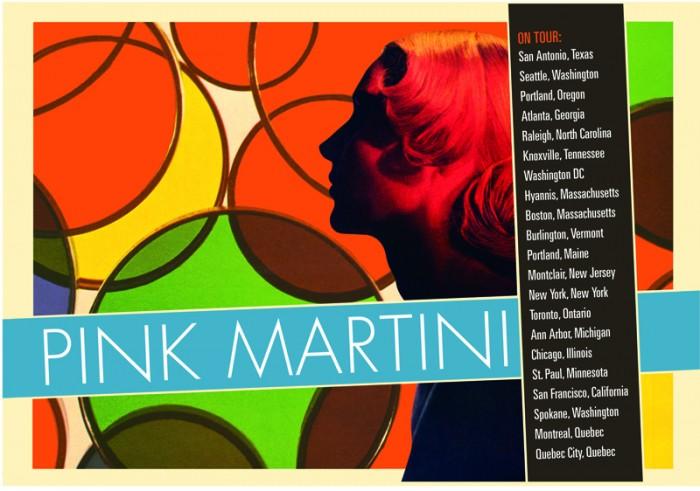 Pink Martini Postcard 2