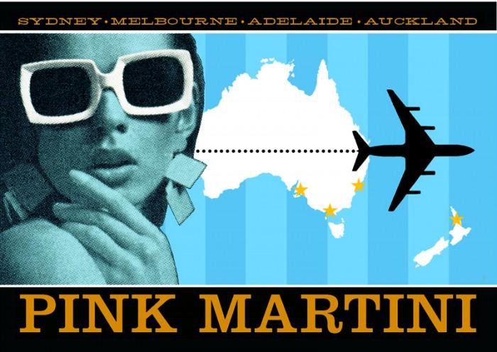 Pink Martini Postcard 3