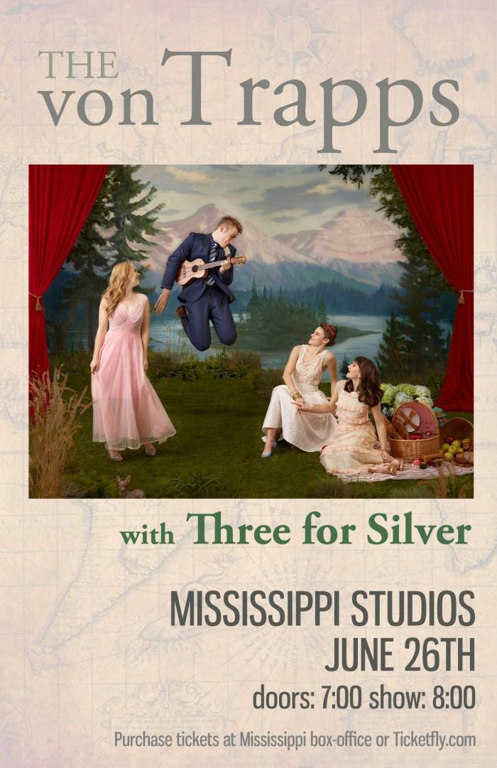 von Trapps | Mississippi Studios | June 26